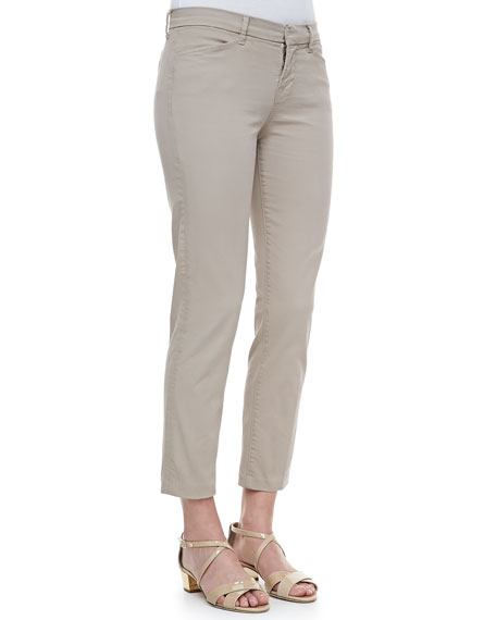 Kailee Cropped Twill Trousers