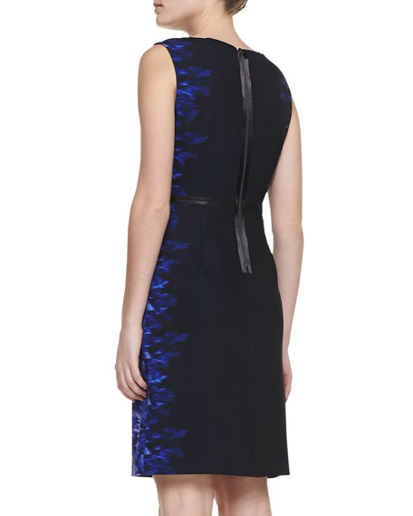 Beverly Digital-Print Sheath Dress