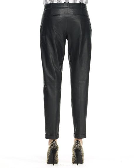 Kanga L Magazine Leather Pants