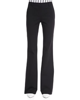 Theory Fiola Boot-Cut Trousers