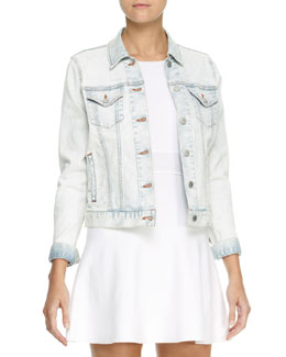 Theory Tim Chastain Denim Jacket