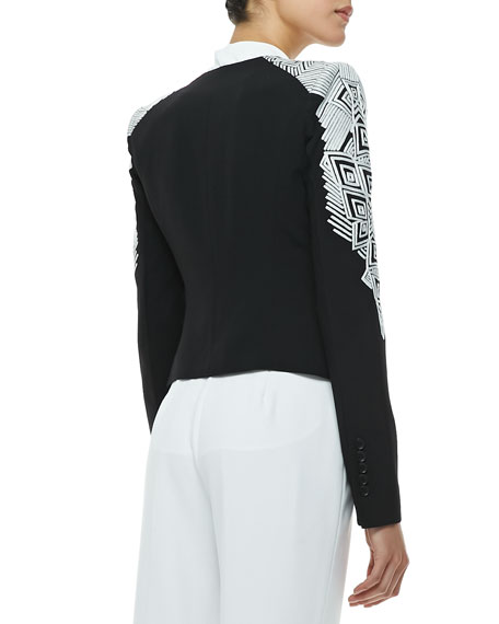 Abram Embroidered Blazer