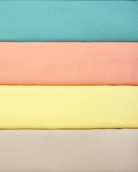 Yaelle Short-Sleeve Pleated Dress
