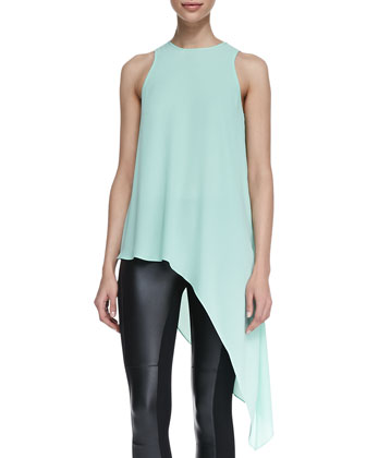 Kenda High-Low Asymmetric Blouse