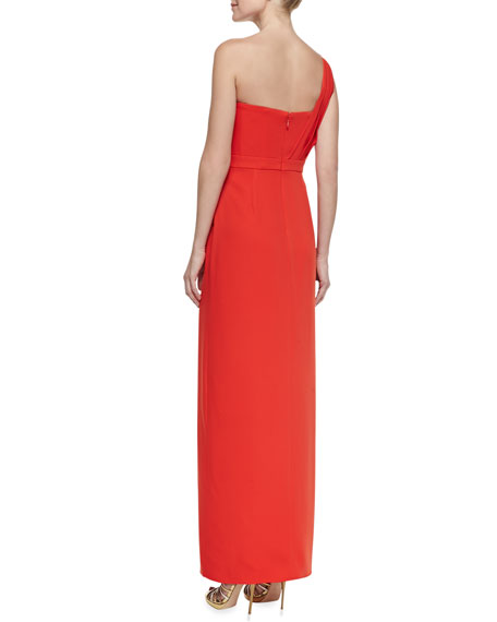 Kristine One-Shoulder Gown