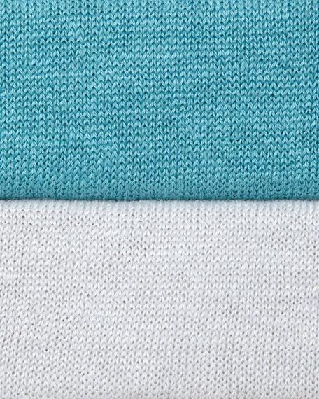Oversized Dolman-Sleeve Knit Top