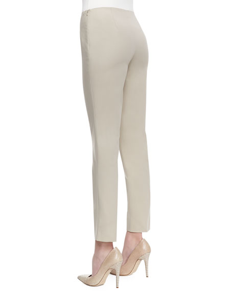 Stanton Straight-Leg Ankle Pants