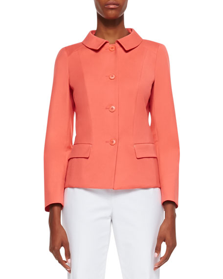 Lucienne Four-Button Jacket