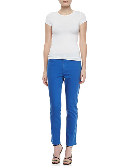 Alisha Fitted Ankle Jeans, Petite