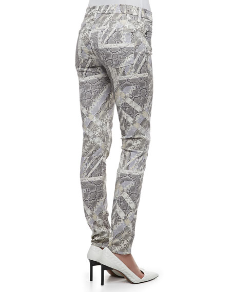 The Skinny Gummy Graphic Reptile Pants