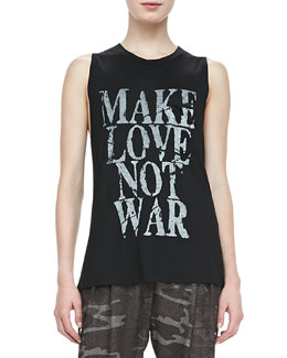 Haute Hippie Make Love Not War Tee
