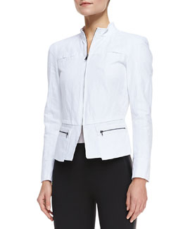 T Tahari Daughtry Long-Sleeve Jacket