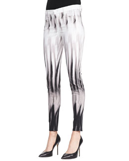 J Brand Jeans Super Skinny Pants, Shift Print