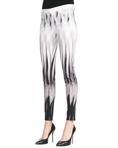 Super Skinny Pants, Shift Print