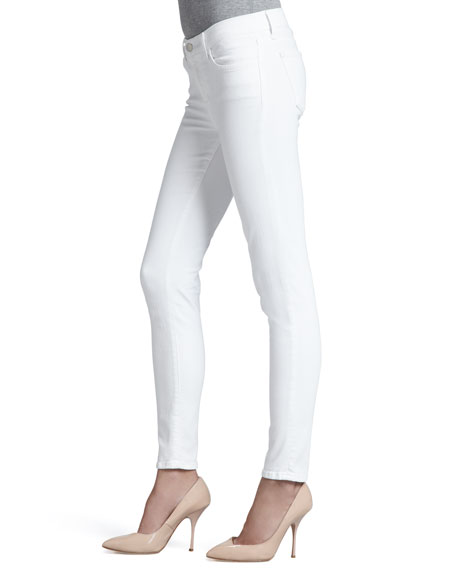 811 Blanc Mid-Rise Skinny Jeans