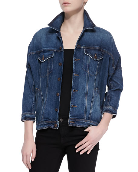 Minnie Denim Oversized Jacket