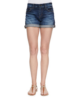 Joe's Jeans Darla Cuffed Denim Shorts