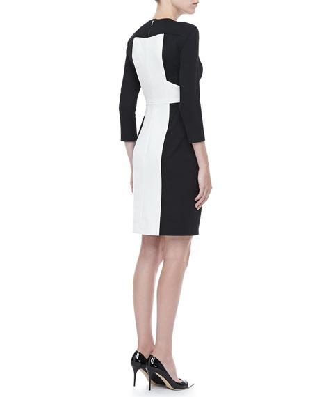 Rabat Two-Tone Dress