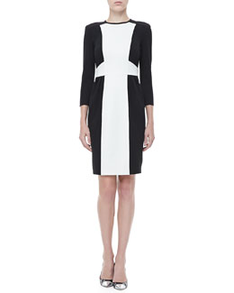 Nanette Lepore Rabat Two-Tone Dress