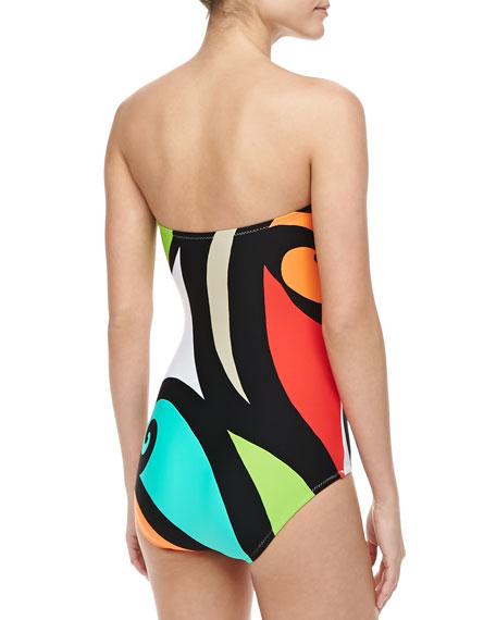 Pop Wave One-piece Swimsuit