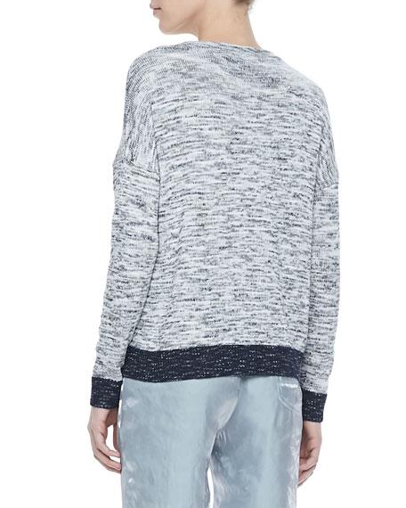 Dionne Tonal V-Neck Sweater