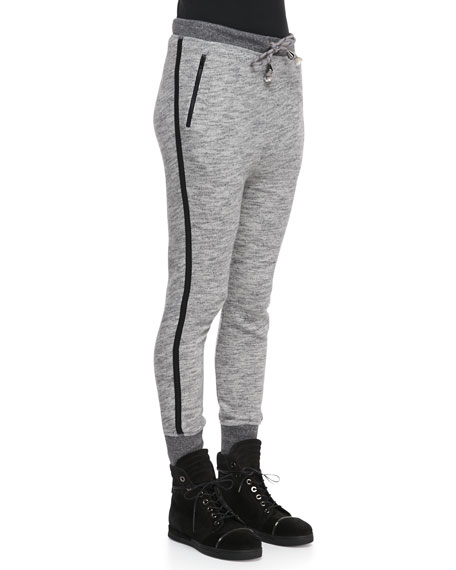 Murphy Dropped-Front Sweatpants