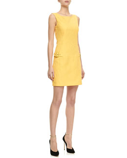 Laundry by Shelli Segal Floral Jacquard Sheath Dress
