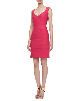 Laundry by Shelli Segal Banded Sleeveless Travel Dress