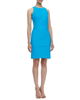 Laundry by Shelli Segal Sleeveless Travel Street Sleeveless Folded Dress