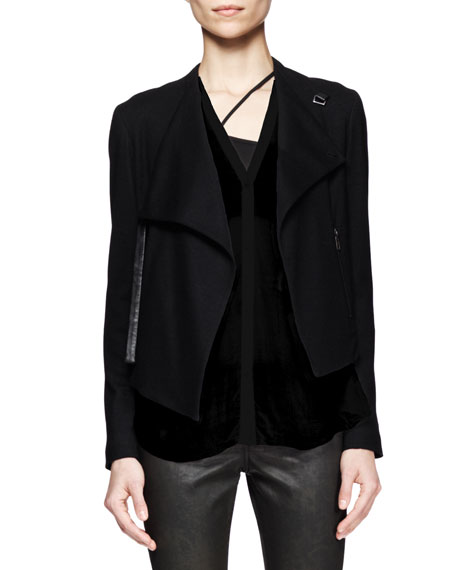 Sonar Wool Cropped Jacket