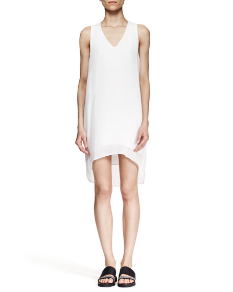 Breeze High-Low Shift Dress