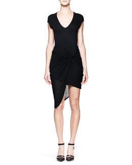 Helmut Lang Slack Twist Jersey Dress