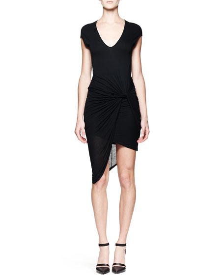 Slack Twist Jersey Dress