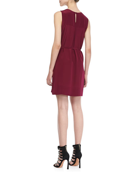 Yasmine Sleeveless Shift Dress
