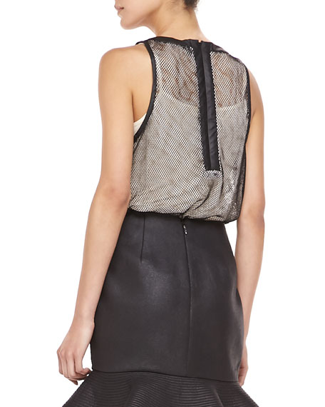 You Said Mesh-Overlay Tank