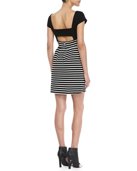 County Cotton Striped Dress