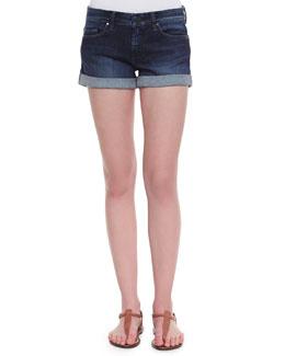 Blank Clean Cuffed Shorts
