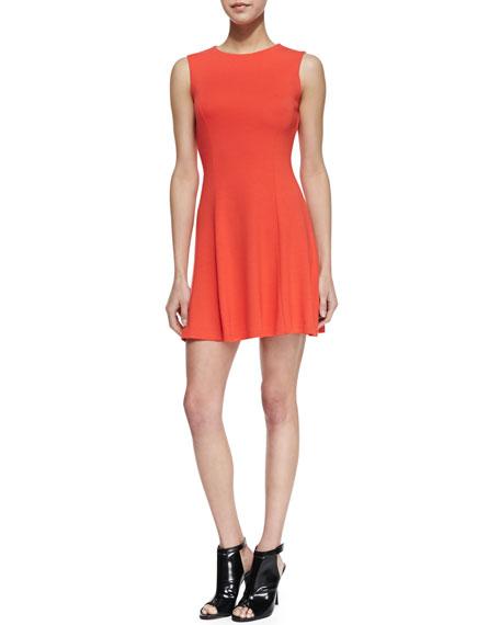 Viven Paneled Jersey Dress
