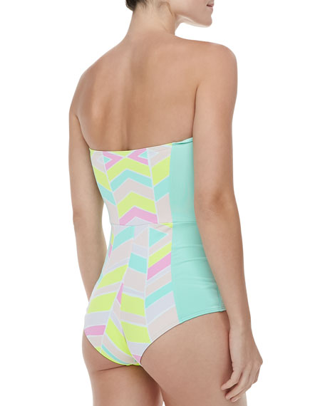 Starboard Peplum Front One-piece Swimsuit