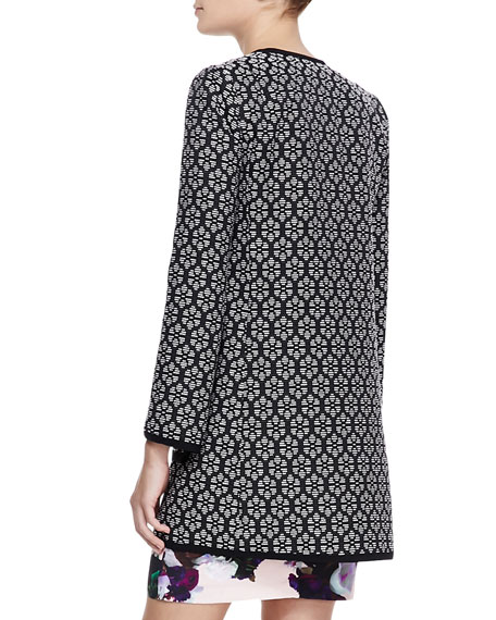 Young Love Patterned Coat