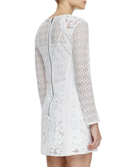Bombshell Formfitting Lace Dress