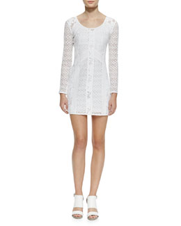 Nanette Lepore Bombshell Formfitting Lace Dress