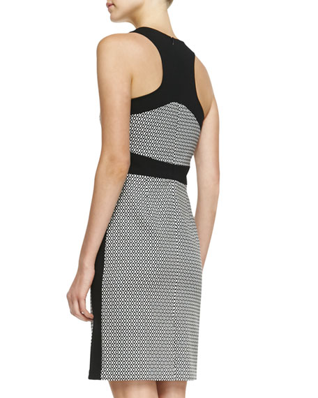 First Love Solid-Trim Dress