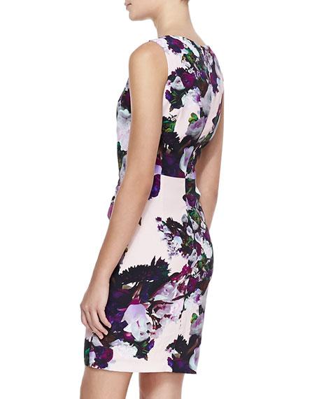Forbidden Love Floral-Print Dress