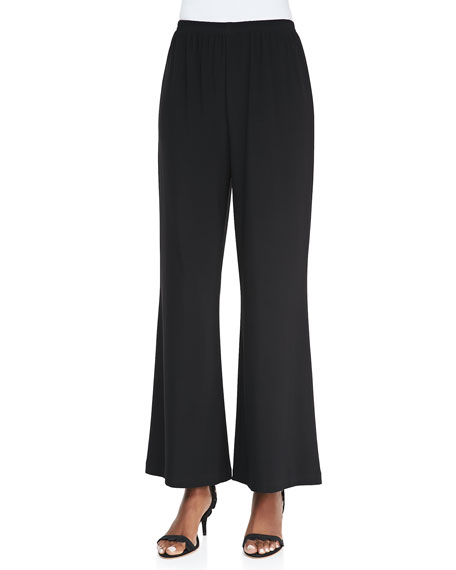 Wide-Leg Jersey Pants, Women's