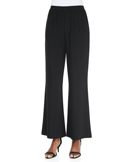 Wide-Leg Jersey Pants