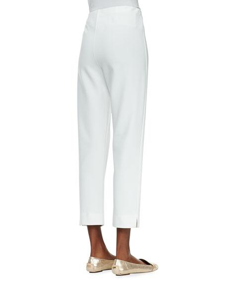 Slim Ponte Ankle Pants, Women's
