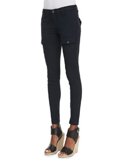 Joie So Real Skinny Pants, Navy