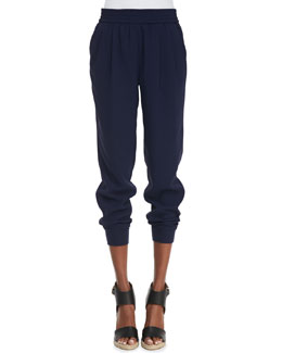 Joie Mariner Pull-On Pants, Dark Navy