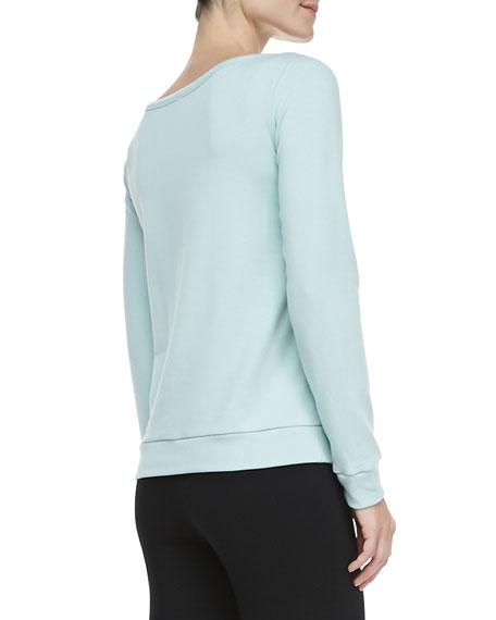 Katherine Boat-Neck Sweatshirt